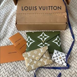 LouisVuitton Giant Collection Kiragami pouch Small